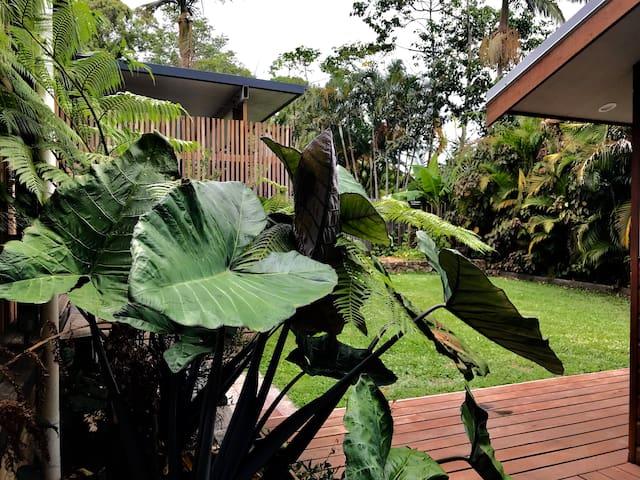 Tropical Byron Bay house