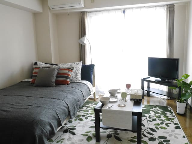 Good location to enjoy Osaka/3pax - Ōsaka-shi - Daire