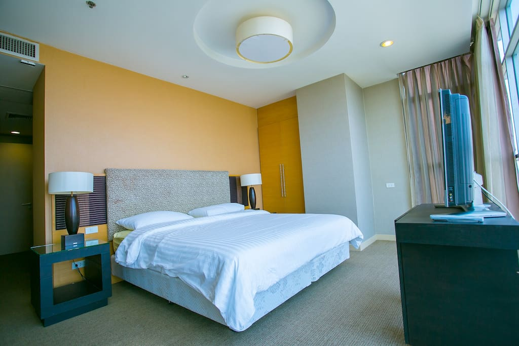 Master room , King Size bed