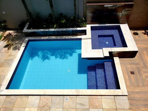 Haus mit Swimmingpool in der Nachbarschaft João VI, Muriaé-MG