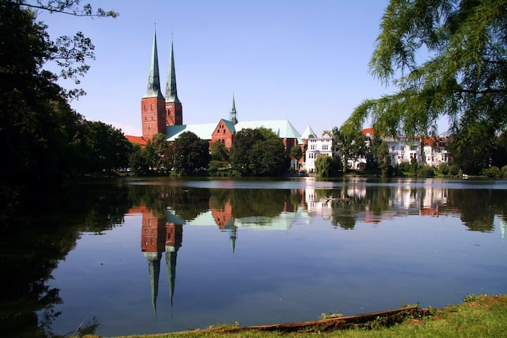 Beautiful apartment in the old town of Lübeck