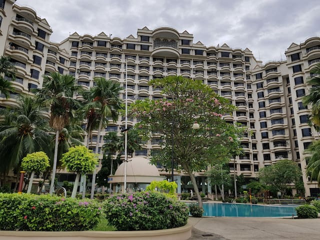 A unit of 2 bedroom sea view condo for rent