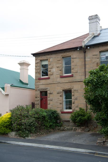 Central Hobart Town House