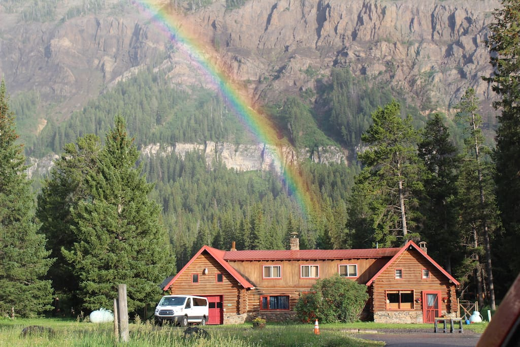 Rent our house and find the pot of gold.