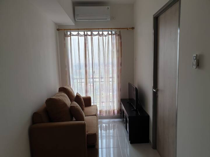 Cozy 1BR Akasa Pure Living Apartment Serpong BSD