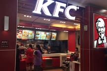 KFC in Tesco Lotus.