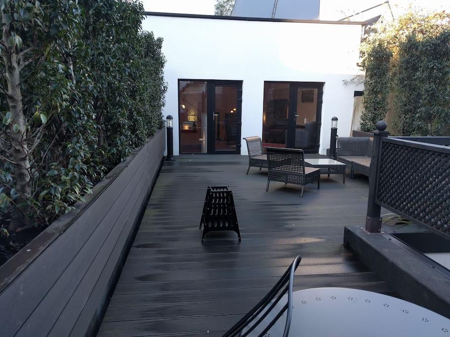 60 sqm terrace in central Dublin!