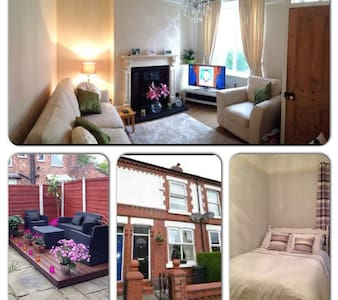 Beautiful double room in Cheadle - Rumah