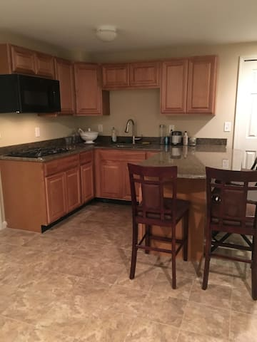 Spacious finished basement with kitchen & bathroom - Ann Arbor - Lägenhet