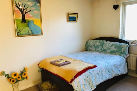 Lovely room in cosy city house. Vegetarian home!