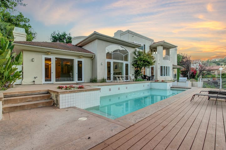 Celebrity GALORE in this 5200 sq ft masterpiece