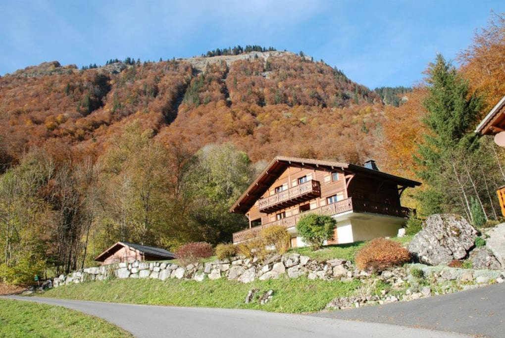 Chalet Clairvaux in the Summer