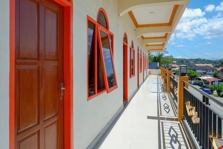 1 Twin Room  in Guest House at Toraja Utara