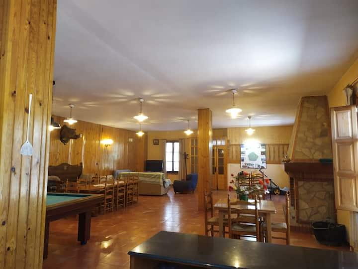 Casa Rural Huerto Lahiguera hasta 16 personas