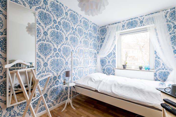 Zentrales Zimmer, Innenhofblick - Hannover - Lägenhet