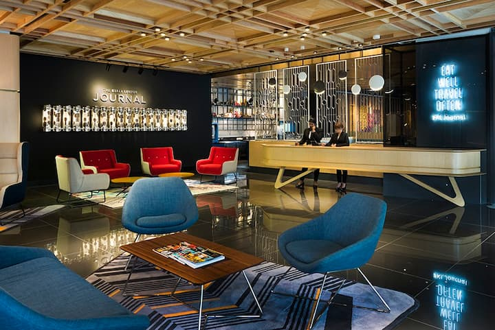 Stylish boutique hotel in KL