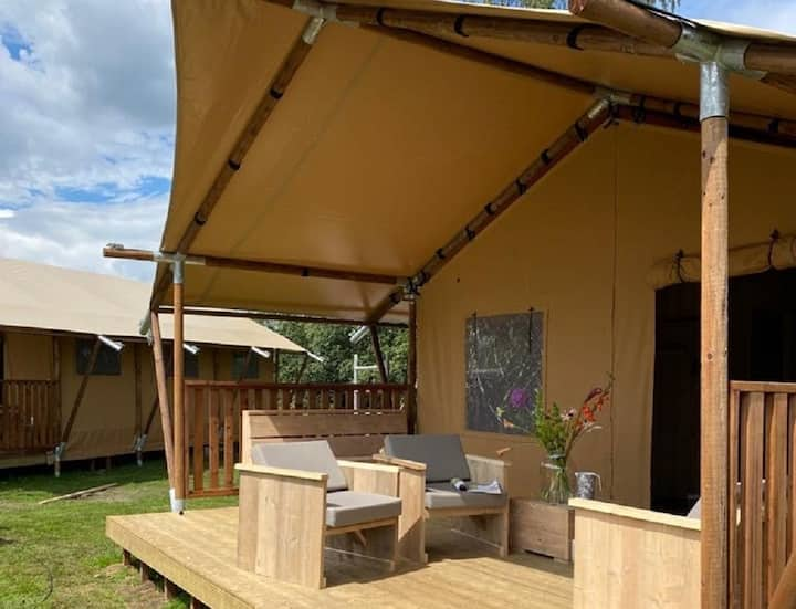 Luxe Safaritent Glamping 6-persoons