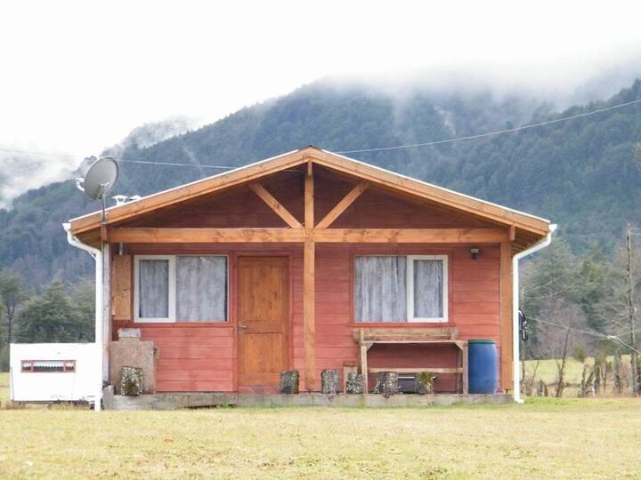 cabaña en parcela a 6 km licanray