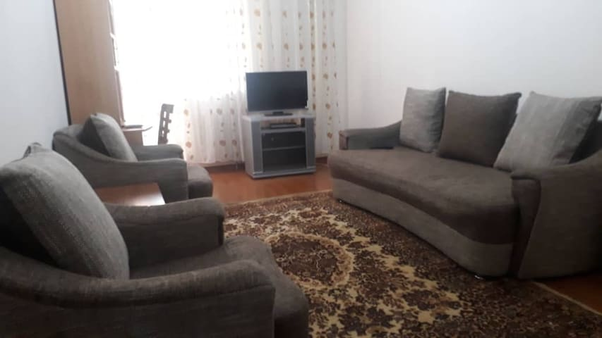 Two room apartment in the heart of Bishkek