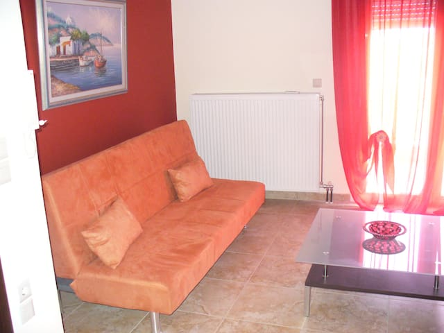 wonderful apartment ,food homemade near olumpus ! - Litochoro - Pis