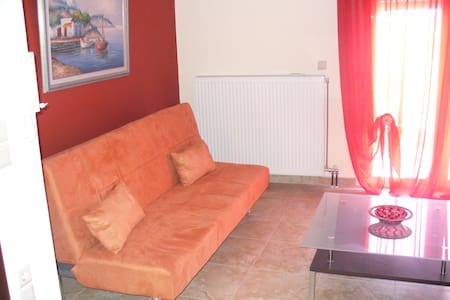 wonderful apartment ,food homemade near olumpus ! - Litochoro - Apartment
