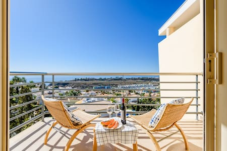 New Ocean View Apartment with Terrace