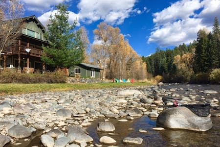 Closest Riverside 4 Bdrm to Wolf Creek and Pagosa - Pagosa Springs - Pensione