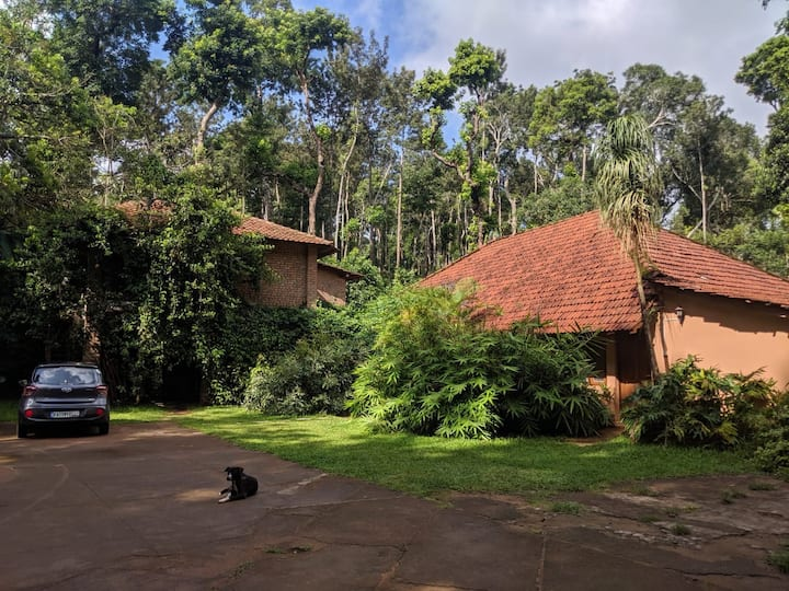 Heritage Bungalow in Coffee Plantation in Coorg.