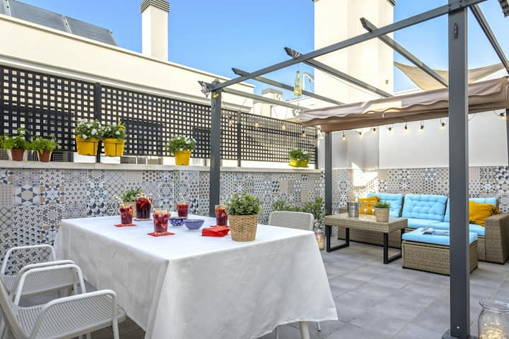 CityCentre PrivateTerrace*FreeParking*RooftopPool