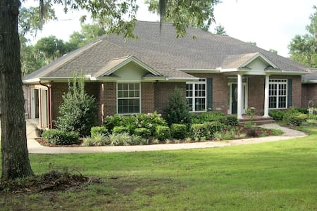 Billberry Landing Lake Front 3BR 3BA  House - Monticello - Casa