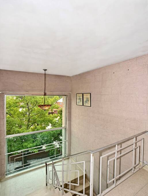 Terrazzo floors throughout property.  Front entrance to property is luxurious.