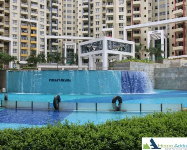 Purva Highlands - 3BHK Spacious Apartment