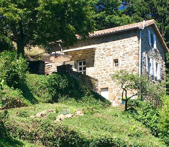 The little paradise of the Ardèche Mountains - Beauvène - House