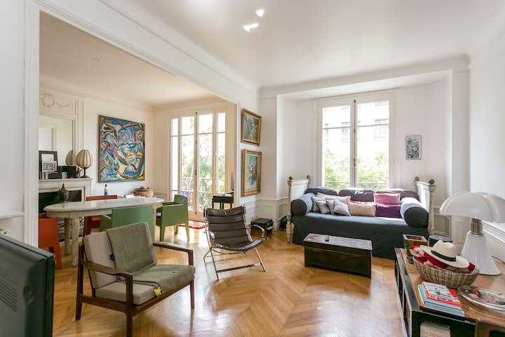 Appartement de famille spacieux et lumineux
