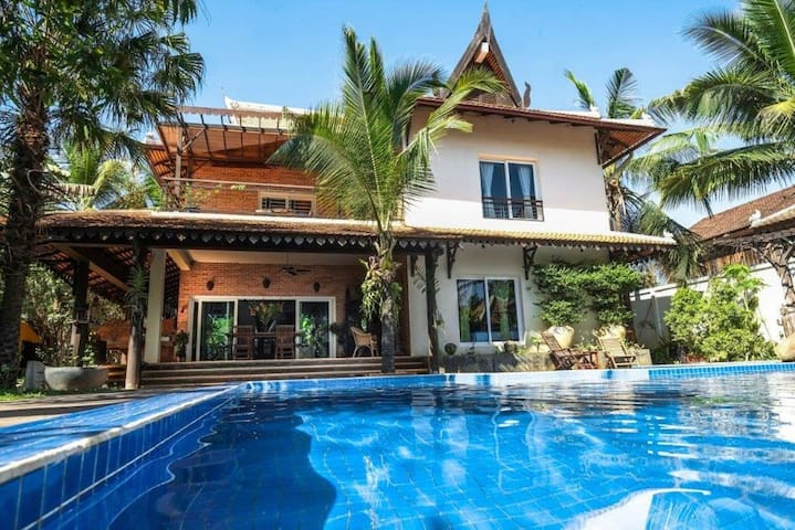Private villa for 6 persons - Krong Siem Reap - บ้าน