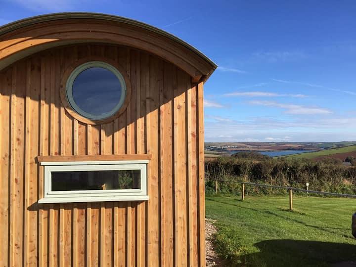 Salcombe Shepherd Huts -The Foxes Den