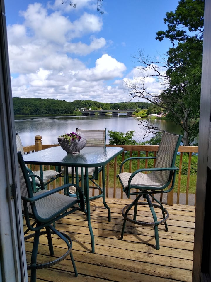 Riverfront Home with a great view