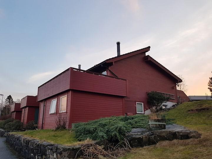 Bergen; family/view/garden