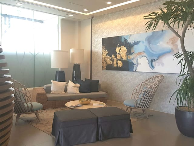 Sitting Area in the Lobby