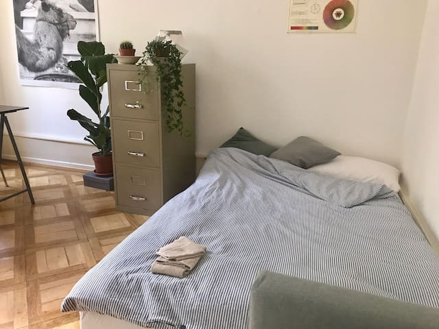 Cozy room in the city centre, near Messe/Basel Art