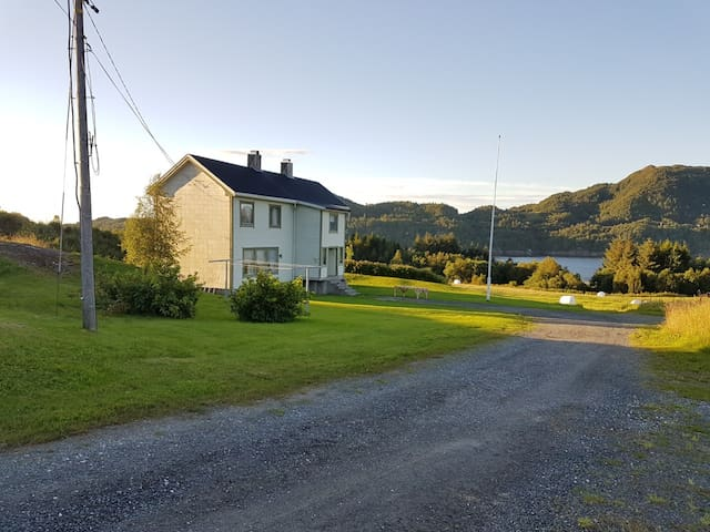 House 5min from Atlantic road, view to the fjord.