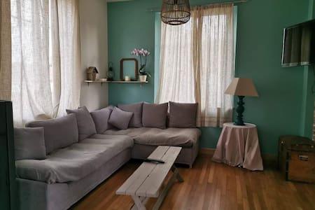 Gite mes pt'tis lits maison chaleureuse 4 chambres