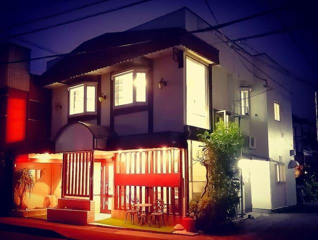 箱根,小田原日式别墅日式榻榻米房间(独立卫生间),B--Room