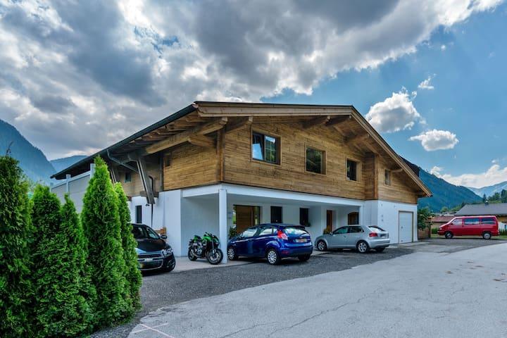 Modern appartement in Salzburgerland met parking
