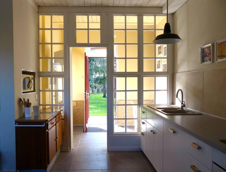 Les Marais de Montecourt. 4* cottage