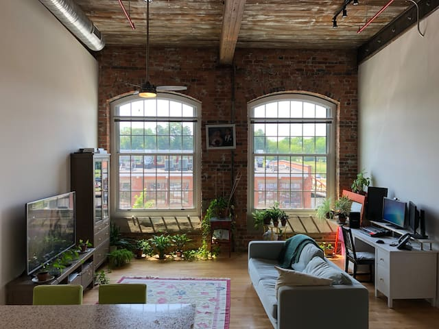 Revolution Mill Apartment, Available March 6th