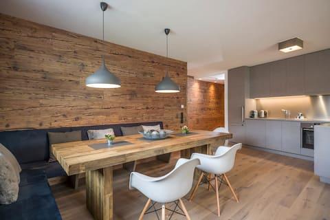 Luksusowy apartament 3-osobowy w centrum Mayrhofen