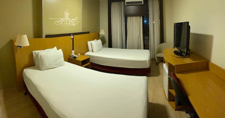 Flat hotel comfort Taguatinga Centro Brasília