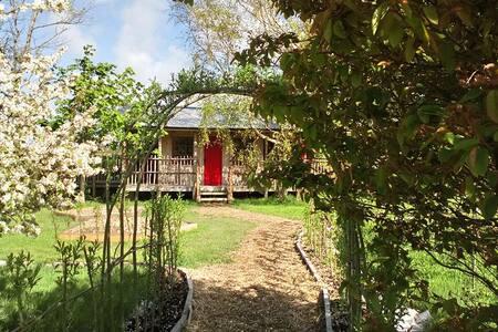 Hand Built Eco Cabin, retreat in beautiful nature.