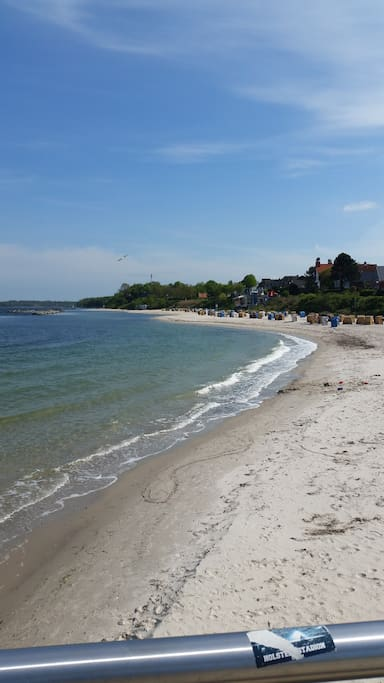 Kurtaxefreier Strand